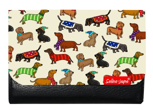 Selina-Jayne Dachshunds Limited Edition Designer Small Purse